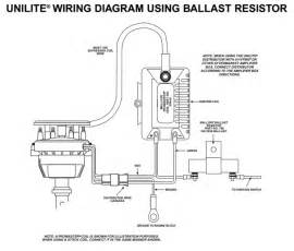 mallory ignition wiring diagram images