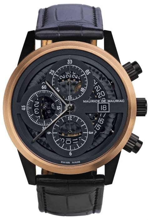 maurice de mauriac watches now available with new movement