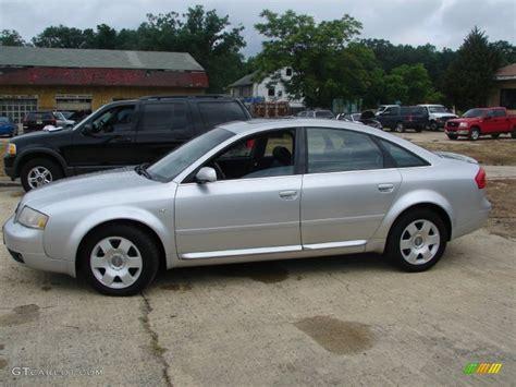 Audi A6 2003 by Light Silver Metallic 2003 Audi A6 4 2 Quattro Sedan