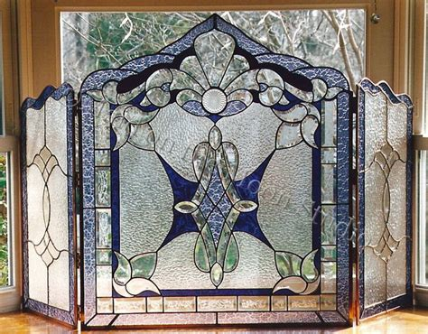 568 Best Images About Beveled Glass Stained Glass Doors Stained Glass Fireplace Doors