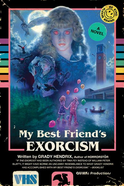 my best friend s books my best friend s exorcism paperback quirk books