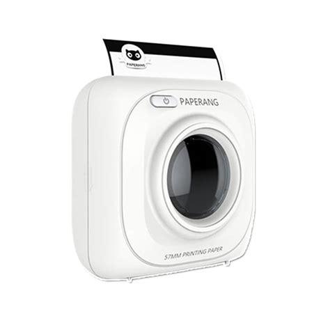 Dijual Zjiang Mini Portable Bluetooth Thermal Printer Limited Barang B portable mini bluetooth wireless pocket photo printer mobile phone tablet wireless thermal photo