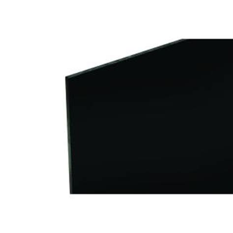 48 in x 96 in x 118 in black acrylic sheet ca2025blk