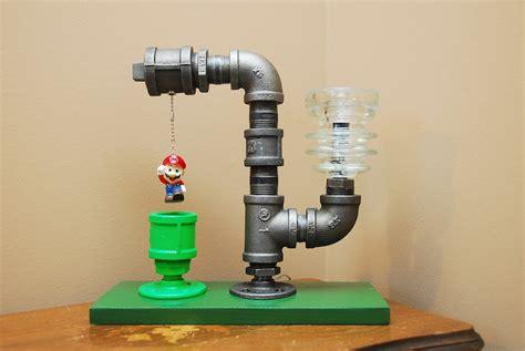 Super Mario Bedroom Ideas mario bros pipe lamp die perfekte klempner lampe