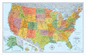 rand mcnally m series usa wall map maps