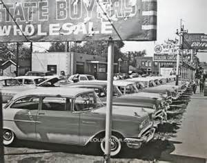 Used Car Lots Chevrolet Used Cars Detroit 1958 The Motor
