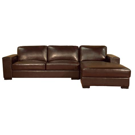 Leather Loveseat With Chaise object moved