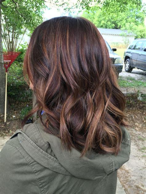 honey highlights for dark brown hair on inverted bob honey highlights for brown hair on inverted bob 1000