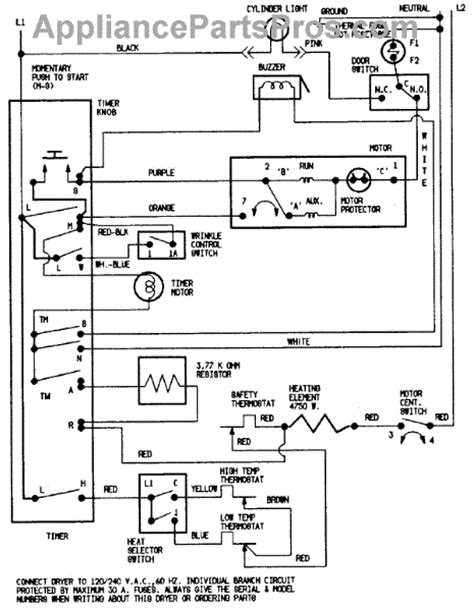 parts for crosley cde22b8vc wiring information cde22b8vc