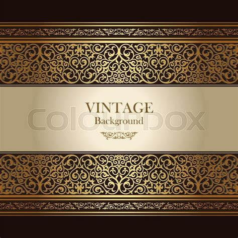 elegant layout book vintage background islamic style ornament ornamental