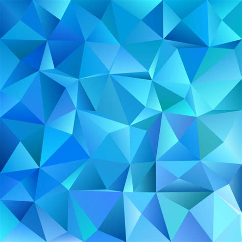 geometric triangle pattern design blue geometric abstract chaotic triangle pattern
