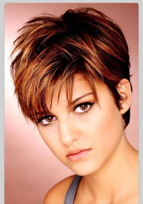short flicky layered cuts short haircuts for fuller faces perfect hair styles