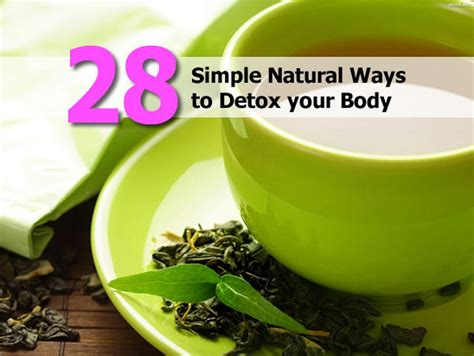 Easy Ways To Detox At Home by 28 Simple Ways To Detox Your
