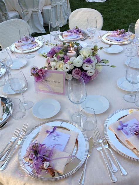 fiori color lilla rosa e glicine idee organizzazione matrimonio