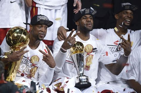 Of Miami Mba Rings by Heat Win Nba Chionship With 95 88 Win Spurs In