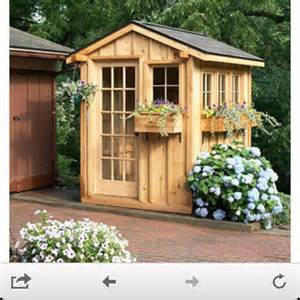 potting shed garden yard pinterest