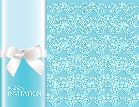 Wedding Invitations Backgrounds by Invitation Background Designs Free Vector 45 387