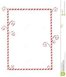 candycane border isolated on white royalty free stock image image 14658896