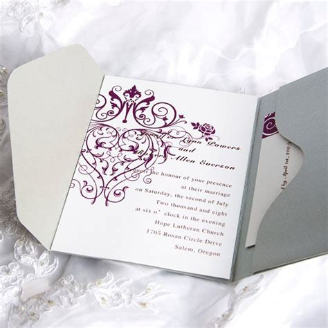 blank wedding invitation kits blank wedding invitations kits