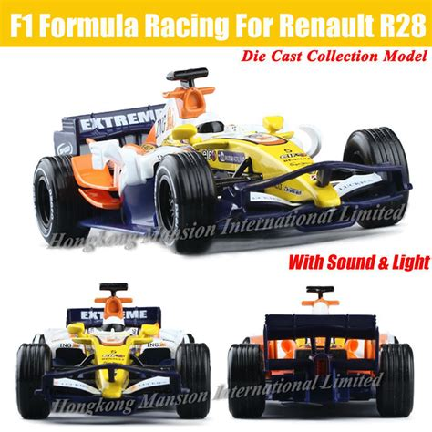Diecast Formula Renault Set for renault r28 f1 formula racing 1 32 scale diecast alloy