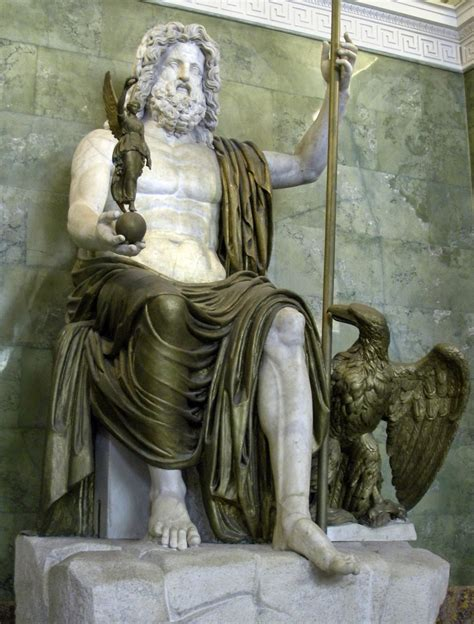 sculpture now world of marble naturally illuminated the statue of zeus at olympia the archaeology news network