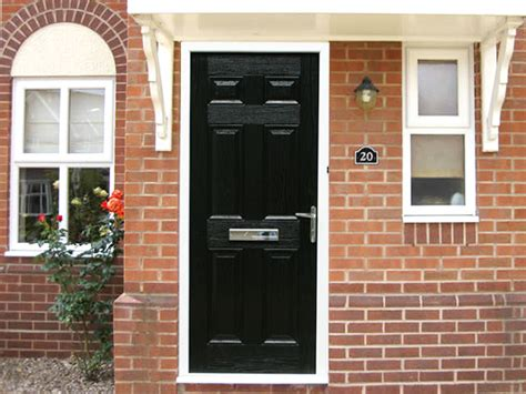 Regency Front Door Regency Black 3ft Composite Front Door Set Flying Doors