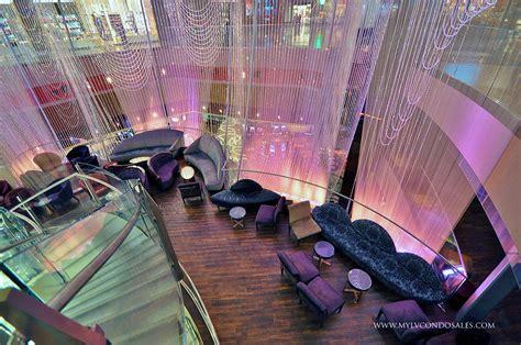 Cosmopolitan Las Vegas Penthouse Condo For Sale Chandelier Bar At The Cosmopolitan