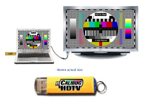 Hd Test Pattern Generator | calibug hdtv calibug usb test pattern generator