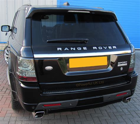 black chrome range rover 3pc java black chrome 2012 rear tailgate upgrade