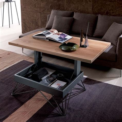 tables transformables radius table transformable et relevable en deux