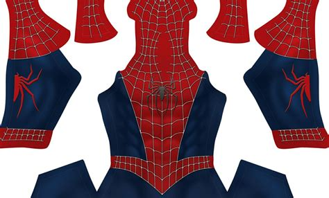 spider man raimi pattern free raimi s spider man v2 pattern dark blue