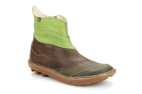 el naturalista organico nw050 ankle boots in brown at