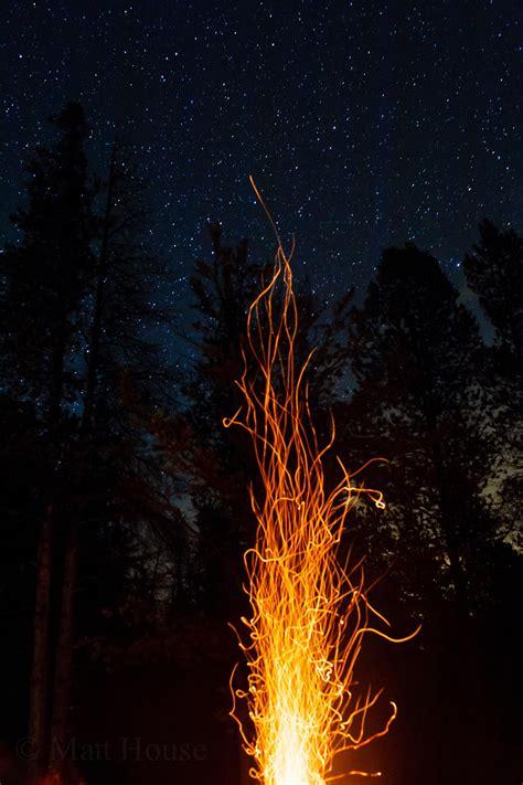 of fire and stars night matt house photography