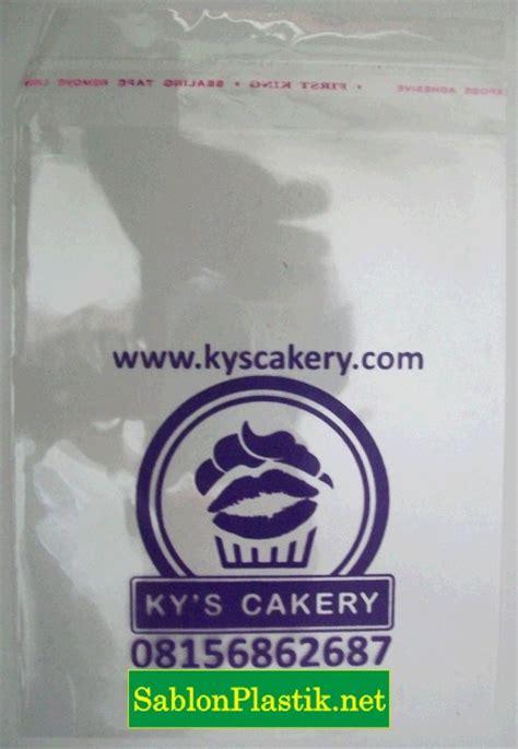 Sablon Plastik Kemasan Roti sablon plastik yogyakarta pesanan ky s bakery sablon plastik