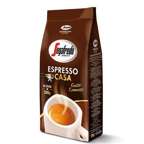 segafredo zanetti espresso caff 232 espresso casa in grani 500gr segafredo zanetti