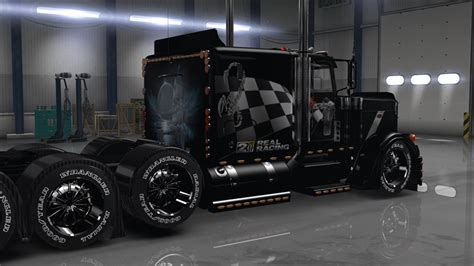 Peterbilt Truck Racing t d s peterbilt 389 racing skin mod american truck
