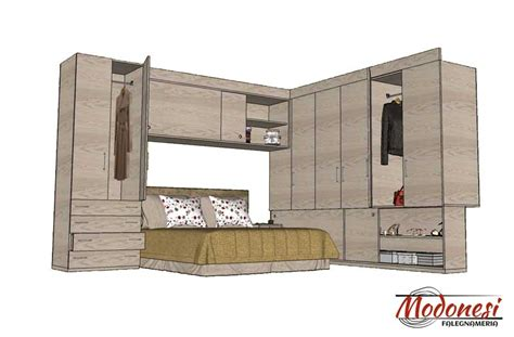 armadi per camere da letto armadio a ponte su misura per da letto piccola
