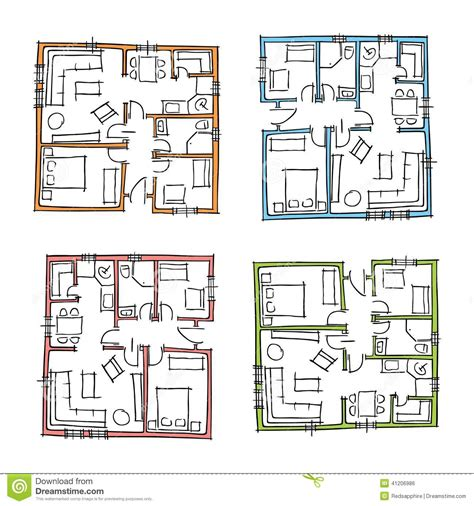 house plans drawn hand drawn house plans stock photo image of architect 41206986