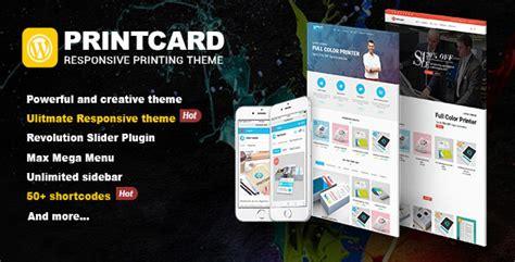 Printshop Wordpress Responsive Printing Theme Ecommerce Kukawebkukaweb Printing Ecommerce Website Template