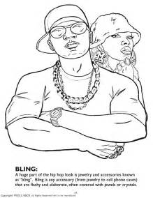 color book coloring books hip hop gangsta rap coloring book