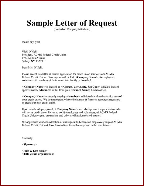 Request Letter Format For Application Letter Format Leave