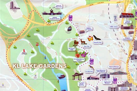 kuala lumpur map tourist attractions kuala lumpur city