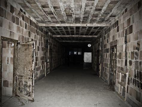 creepy school basement
