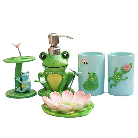 cute bathroom accessories cutest frog bathroom decor
