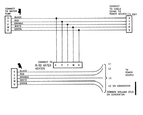 drawing number 6 1 8222 power cable assembly wiring diagram