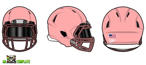 design football helmet template aggfx riddell revo speed helmets template by adamgreengfx