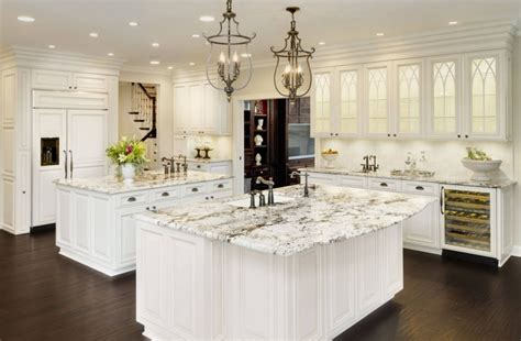 granite for white kitchen cabinets white ice granite white cabinets backsplash ideas