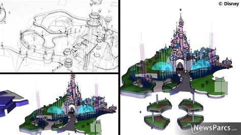 disney castle floor plan newsparcs disneyland ready to launch a new show disney dreams