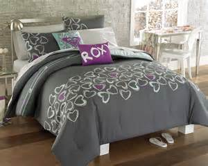roxy bedding for girls roxy heart and soul full bed in a bag and toss pillows