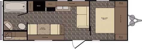 crossroads rv floor plans crossroads z 1 231fb cing world 1359088